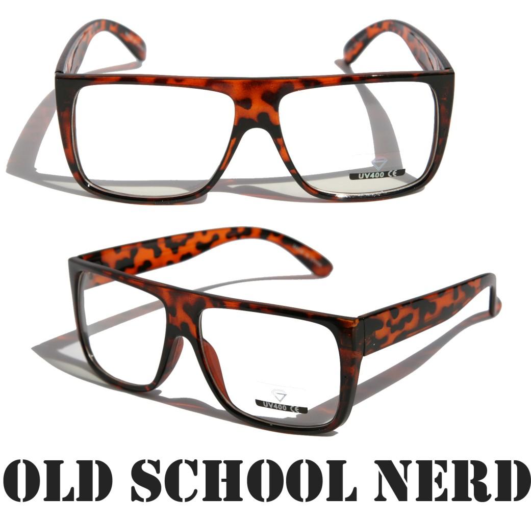 Eyeglass Frames Non Prescription : Clear Lens Glasses Men Women Classic Non Prescription Flat ...