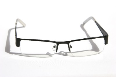 Rectangular Half Rimless Metal Reader Reading Glasses +1 ...