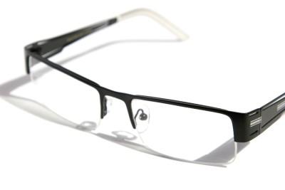 Rimless Glasses Distortion : Rectangular Half Rimless Metal Reader Reading Glasses +2 ...