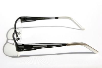 Rectangular Half Rimless Metal Reader Reading Glasses +1 ...