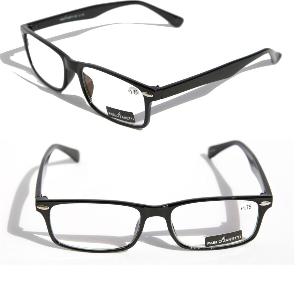 pablo zanetti lightweight reading glasses reader rectangle
