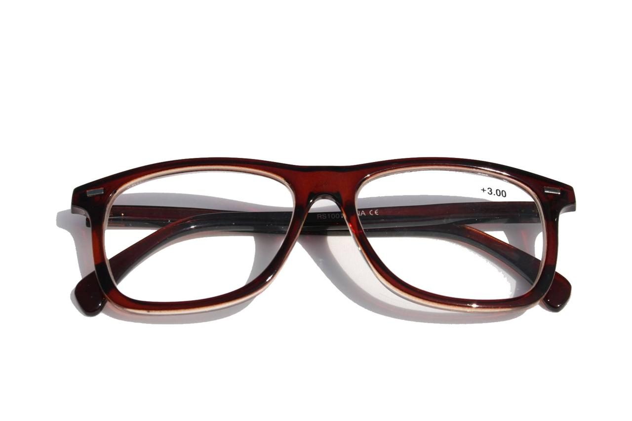 lightweight classic brown coffee wayfarer reading reader