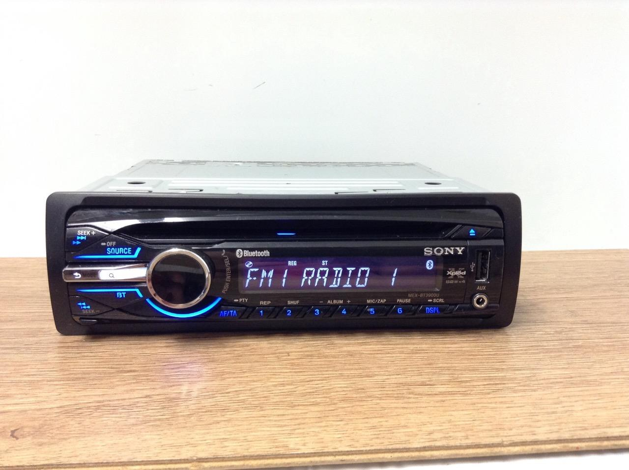 Sony Xplod Car Stereo With Bluetooth