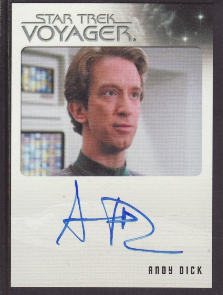 STAR-TREK-VOYAGER-QUOTABLE-AUTOGRAPH-ANDY-DICK-AS-EMX-MARK-II