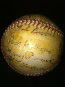 1949 Chicago Cubs Team Signed Lyle L Judy Autographed Auto RARE Baseball