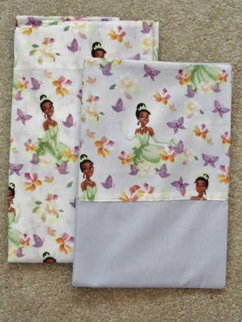 CRIB/TODDLER SHEET 2PC SET- dISNEY'S PRINCESS TIANA IN ...