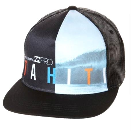 BILLABONG-New-Mens-Signature-Tahiti-Pro-Adjustable-Snap-Back-Trucker-Cap-Hat