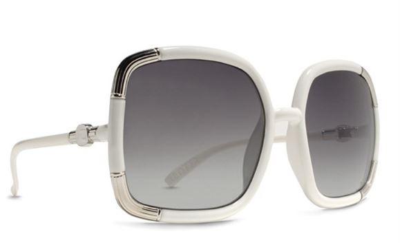 Von Zipper Womens Sunglasses  von zipper vz new womens las sunglasses sunnies white alotta