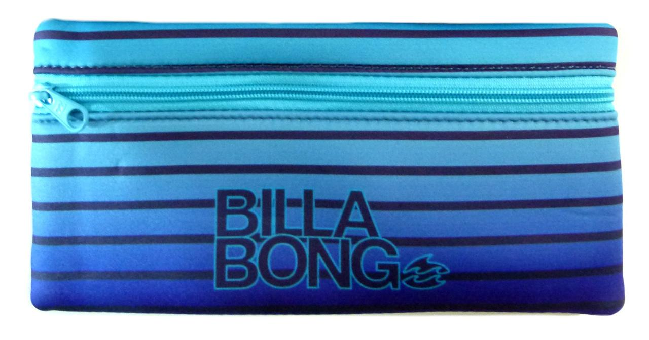 BILLABONG-New-Signature-Surf-Pencil-Case-Bag-Pink-Blue