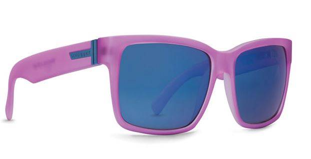 VON-ZIPPER-VZ-New-Sunglasses-ELMORE-Wayfarer-Sunnies-Pink-SpaceGlaze