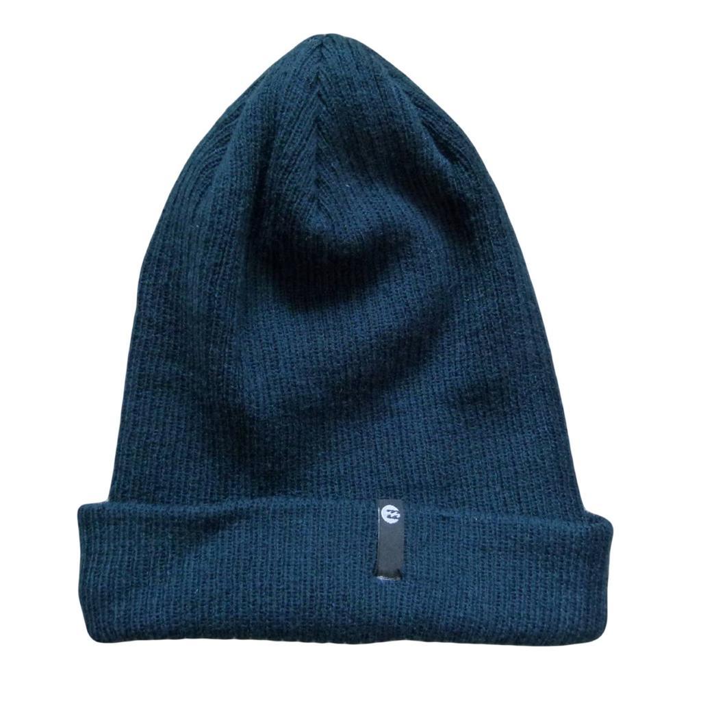 BILLABONG-New-Textured-Knit-Beanie-Hat-Cap-Blue