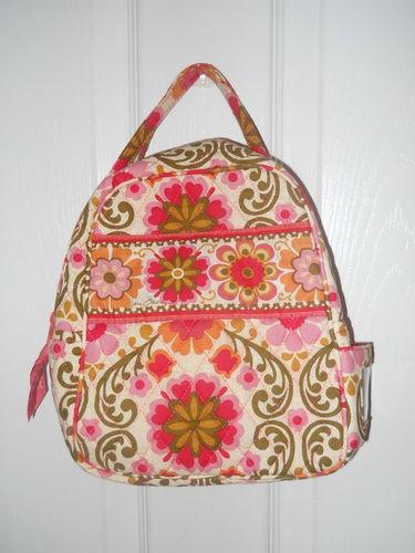 Vera Bradley Let 39 S Do Lunch Bag Tea Garden Folkloric Tote