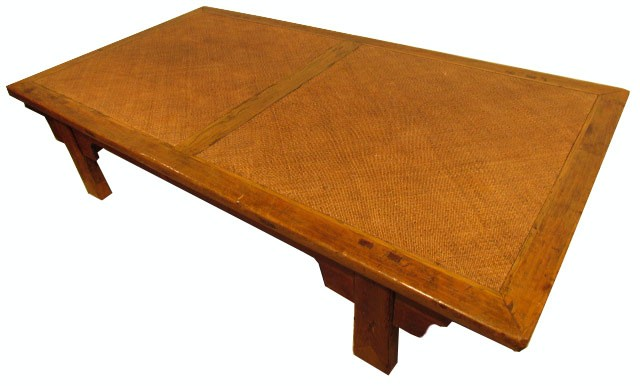 A Very Large Low Antique Style Japanese Style Rustic Teak Coffee Table Ebay