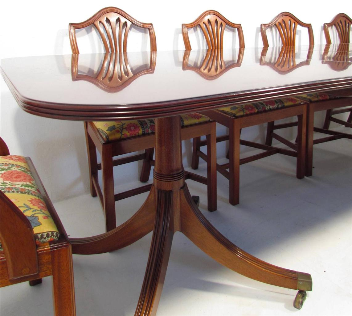 An Excellent William Tillman Solid Mahogany Antique Dining  : 755168878o from ebay.co.uk size 1142 x 1023 jpeg 115kB