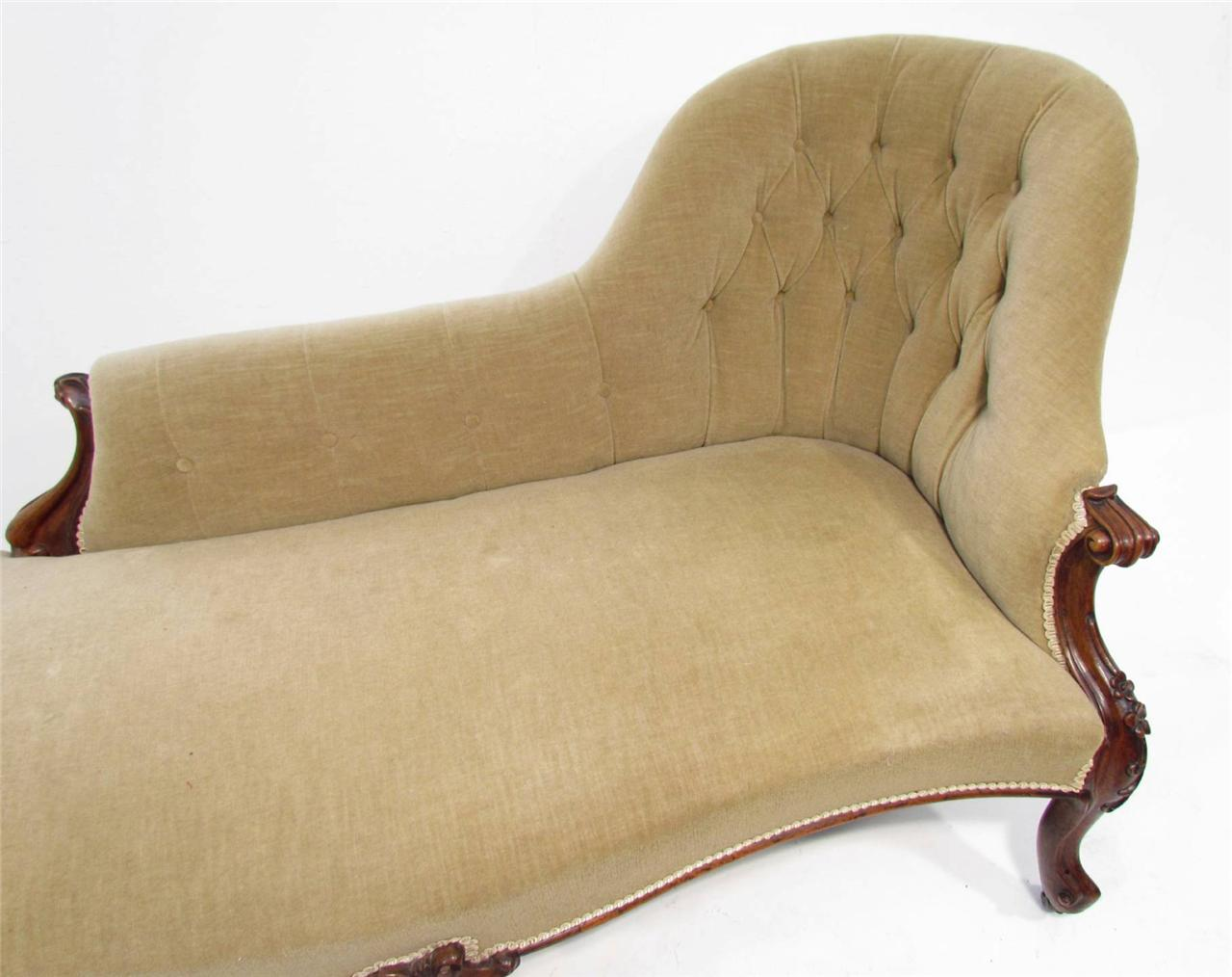 Antique chaise lounge sofa for Antique chaise lounge