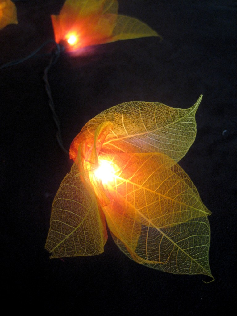 YELLOW STAR FLOWER LANTERN STRING LED FAIRY LIGHTS Home/ Gift / Party / Patio eBay