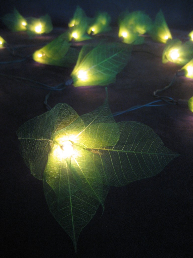 Green Star Flower LED Lantern String Fairy Lights Home Patio Night Light eBay