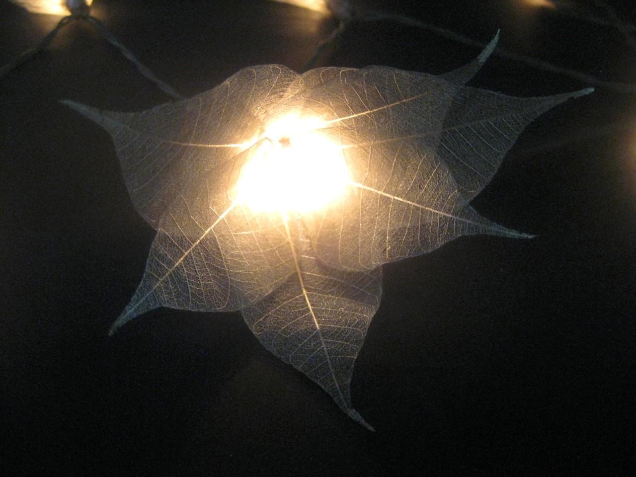 35 SILVER Star Flower 5M LONG LENGTH String LED Fairy Lights Wedding Party