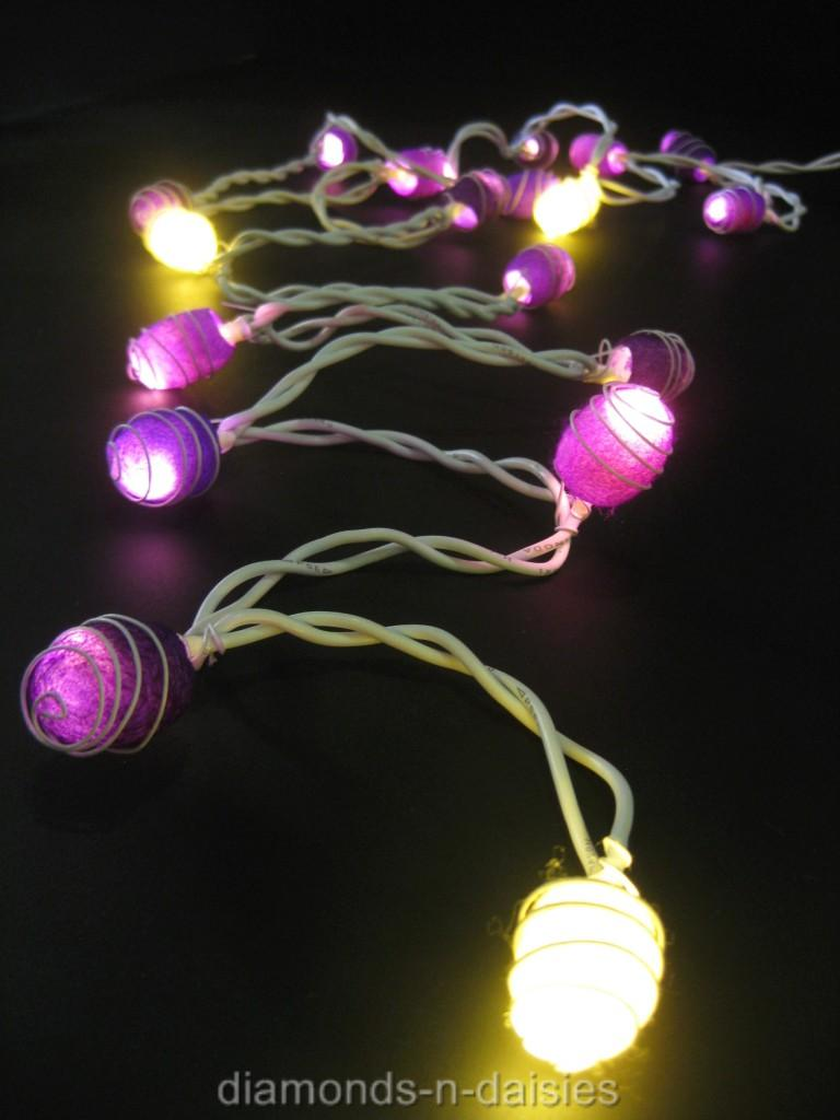 String Lights With No Plug : 35 LED COCOON Fairy String Lights Lanterns *AUSTRALIAN PLUG* 10 Colours eBay