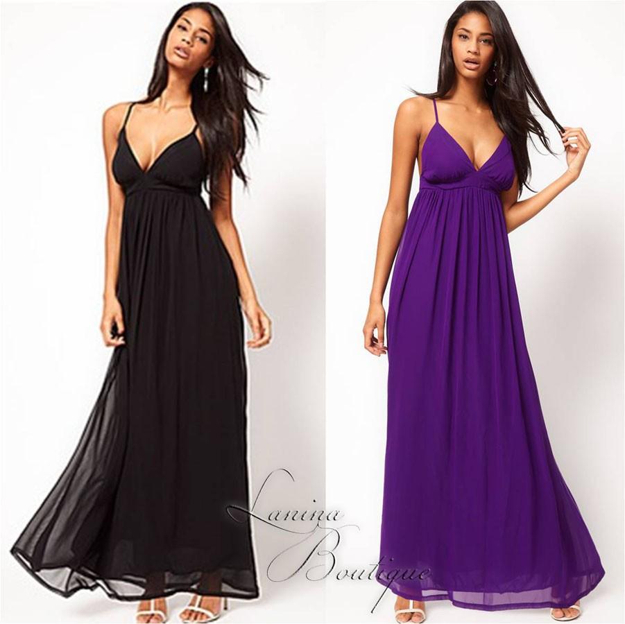 Maxi Dresses Purple