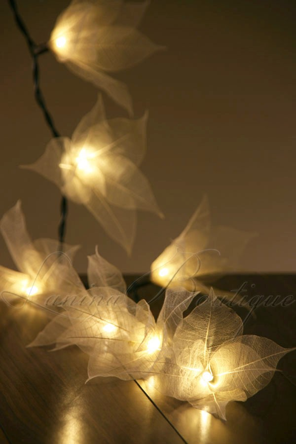 Led String Lights Long : 35 CREAM Star Flower 5M LONG LENGTH String LED Fairy Lights Wedding Floral Decor