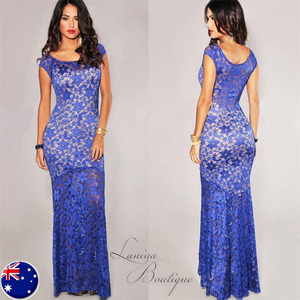 Ebay maxi evening dress