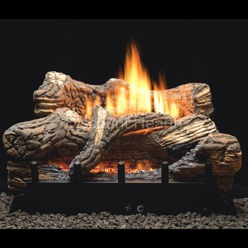 Flint Hill 18 24 30 Vent Free Fireplace Gas Logs Complete Remote Start Ng Lp