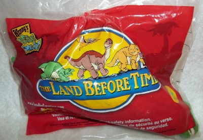 WENDY KIDS MEAL   THE LAND BEFORE TIME DINOSAURS
