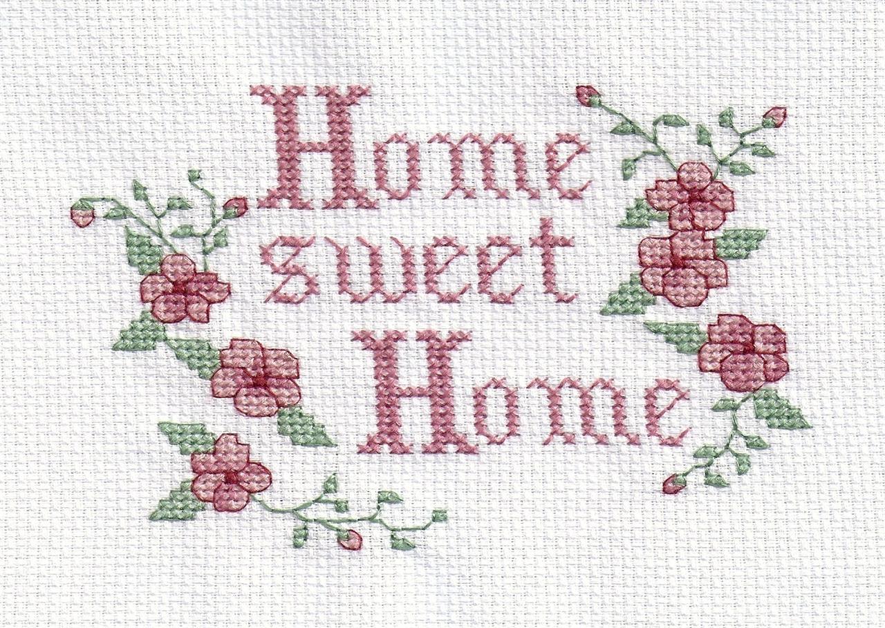 Home вышивка крестом 37