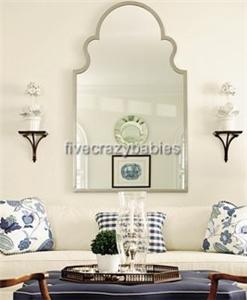 Gorgeous Extra Large SHAPED ARCH Wall Mirror Curved Mantle Vanity