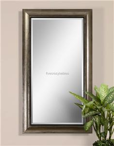 oversize 69 silver full length dressing wall mirror extra large leaner floor ebay. Black Bedroom Furniture Sets. Home Design Ideas
