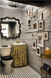 Extra Large 36 Ornate Silver Square Wall Mirror Quatrefoil Neiman
