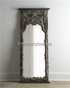 68 Baroque Floor Leaner Mirror Full Length Wall Antique Vine
