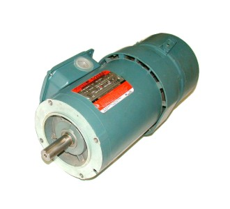 New 1 hp reliance electric 3 phase ac brake motor model for Reliance electric motor parts
