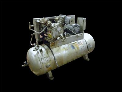 Ingersoll rand t30 model 242 5d 5 hp air compressor 230 for Ingersoll rand air compressor electric motor
