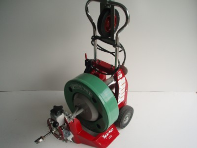 spartan sewer machine