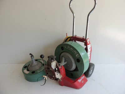 used spartan sewer machine