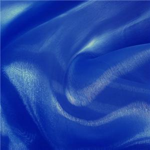 100 Yards 60 Quot Royal Blue Organza Sheer Fabric Draping