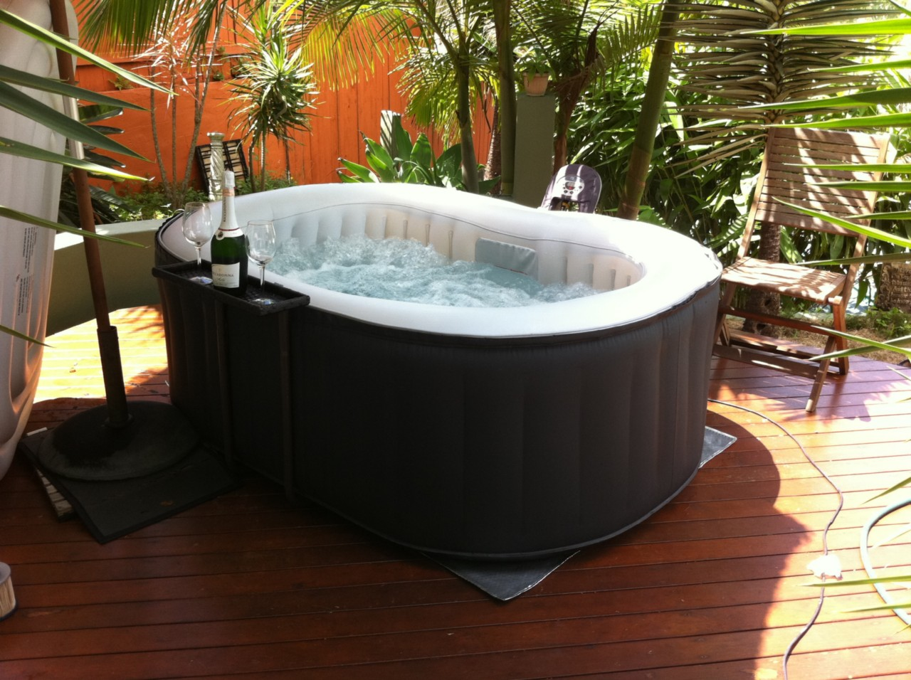 brand new heated hydrotherapy mspa hot tub jacuzzi. Black Bedroom Furniture Sets. Home Design Ideas