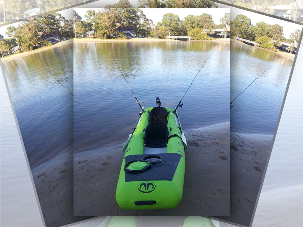 Fishing kayak canoe boat brand new inflatable 2 person for 2 person kayak fishing