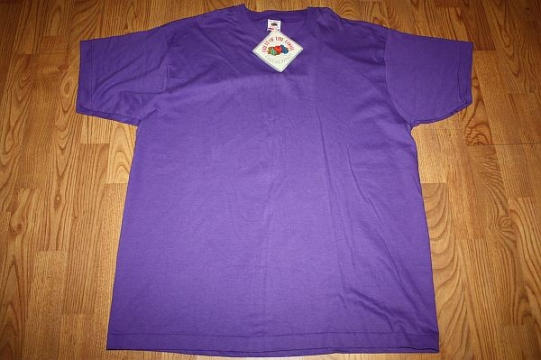 blank shirt tag. XXL * NOS vtg 1991 purple BLANK shirt w/ orig tag | eBay
