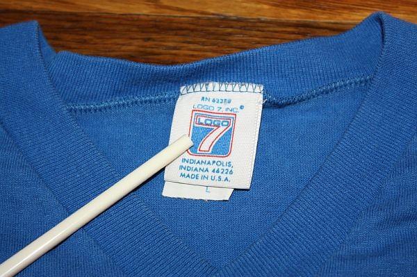 vtg 1990 BUFFALO BILLS jersey shirt * LOGO 7 * 50/50