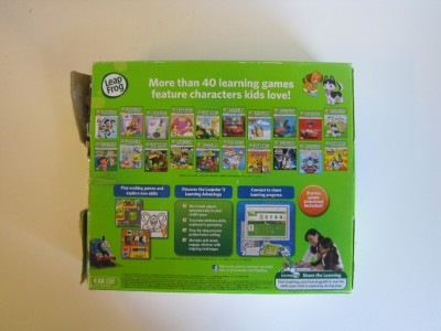 LEAP FROG LEAPSTER 2 LEARNING GAME SYSTEM / 3 8 CHILDREN / 40 GAMES
