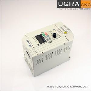 Inverter delta vfd 015m21a for 1 5 kw spindle motor 220v for Single phase motor inverter