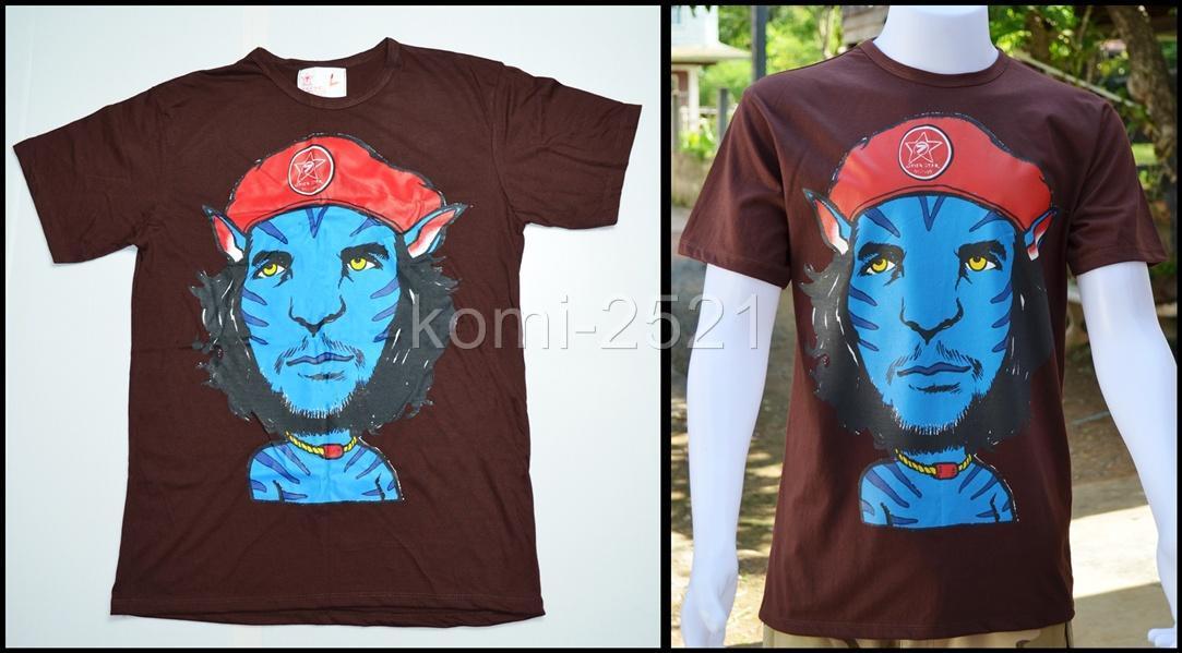 New Avatar Che Guevara Cap Red Fanny Man T Shirt Tattoo Bike Rock Punk