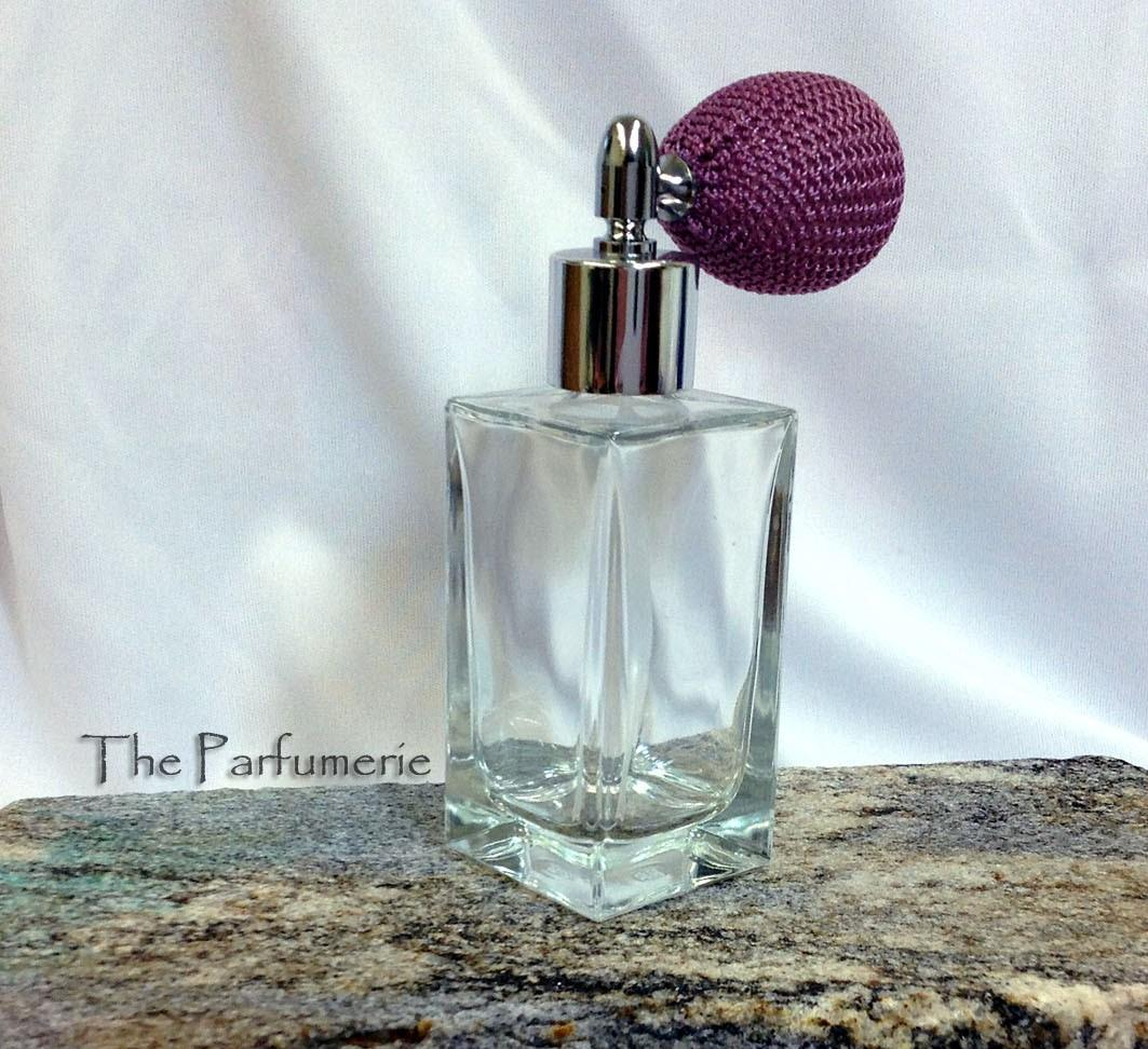 Perfume Bottles Vanilla And Perfume Bottle: Bulb Atomizer Perfume Spray Empty Replacement Glass Bottle Refillable