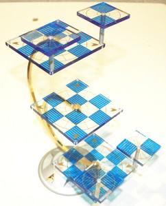 Star Trek Tridimensional 3d Chess Set