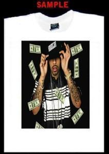 Lil Flip Custom T Shirt Tee Rap Hip Hop Houston 250