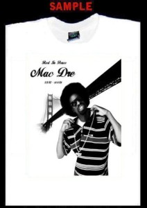 Mac Dre Custom T Shirt Tee Hip Hop Rap Andre Hicks 266