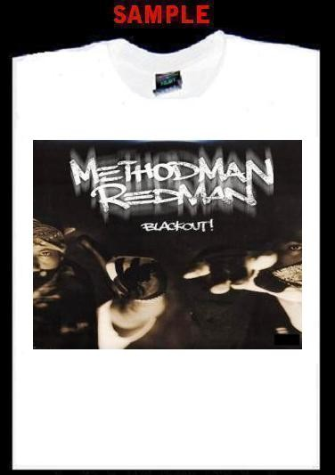 Method Man Custom T Shirt Tee Redman Rap Hip Hop T107